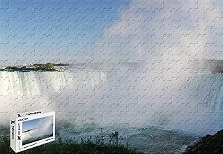 PigBangbang,29.5 X 19.6 Inch,Difficult Puzzle Premium Basswood - Horseshoe Falls X - 1000 Piece Jigsaw Puzzle