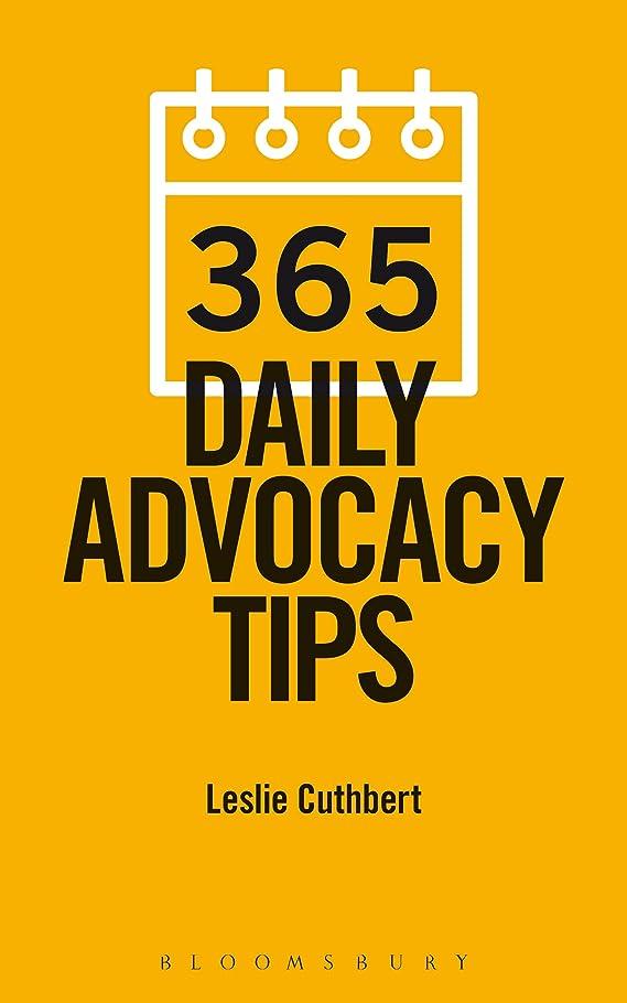 墓地想起ステーキ365 Daily Advocacy Tips (English Edition)