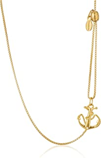 Pull Chain Necklace Anchor 14k Chain Necklace