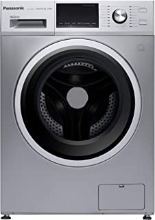 Panasonic 12 Kg Wash & 8 Kg Dry 1400 RPM Front Load Washer Dryer, Silver - NAS128M2L, 1 Year Warranty