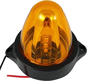 MINI RECOVERY STROBE LED LIGHT ORANGE BREAKDOWN FLASHING BEACON CAR TRUCK VAN