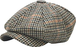Newsboy Ivy Ascot Hat Wool Blend Gatsby Plaid Patch Herringbone Golf Driving