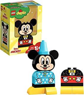 LEGO DUPLO Disney - Mi Primer Modelo de Mickey, Juguete Preescolar de Construcción de Mickey Mouse para Niños y Niñas a Partir de 1 Año y Medio (10898) , color/modelo surtido