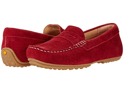 Samuel Hubbard Free Spirit For Her (Red Flag Suede/White Topstitch/Gum Sole) Women