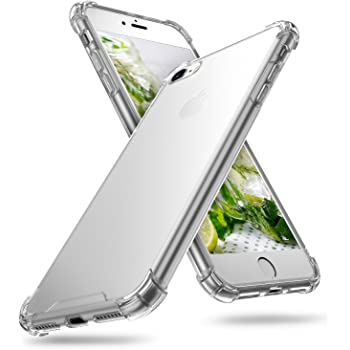"ORIbox Case for iPhone 7/8/SE 2020, Crystal Clear Case with 4 Corners Shockproof Protection, Soft Scratch-Resistant TPU Cover for iPhone 7/8/SE 2020 (4.7"")"