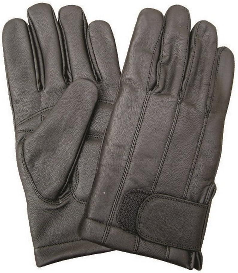 Unisex Adult AL3022 Full finger lined glove Large Black