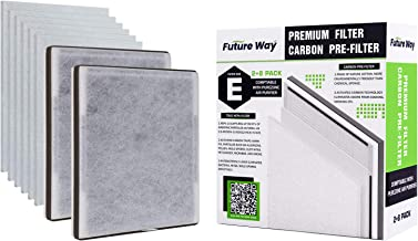 FutureWay Air Purifier Filter Replacement for Pure Enrichment Pure Zone, 3-in-1 HEPA Filter and Carbon Pre-Filter Combo Set for 1-Year Use