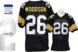 Rod Woodson Signed Custom Jersey - PSA/DNA - Autographed - Pro Style - Black