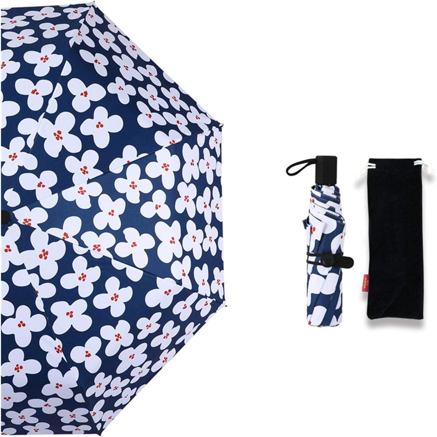 YXIUER Style Flowers Mini Folding Super Direct sale of manufacturer popular specialty store Umbrella Women Umb or Rain Sun