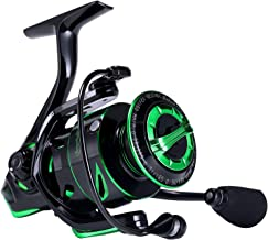 Sougayilang Fishing Reel 6.2:1 High-Speed Gear Ratio Spinning Reel with 12+1Stainless BB and CNC Aluminum Spool & Handle for Freshwater and Saltwater Fishing