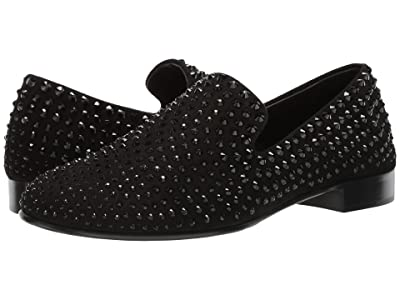 Giuseppe Zanotti Kevin Studded Loafer (Black 1) Men