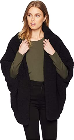 Reversible Shearling Cocoon