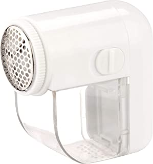 Honey-Can-Do LNT-02093 Electric Fabric Shaver with Brush, White