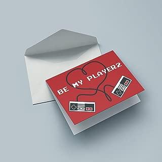 Nerd Cards - Herz Controller - Die Geburtstagskarte für Nerds, Geeks & Liebende