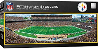 MasterPieces NFL Pittsburgh Steelers Stadium Panoramic Jigsaw Puzzle, 1000 Pieces