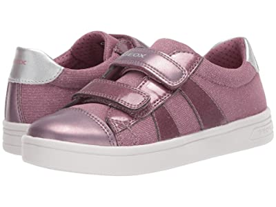 Geox Kids Djrock 49 (Little Kid/Big Kid) (Medium Pink) Girl