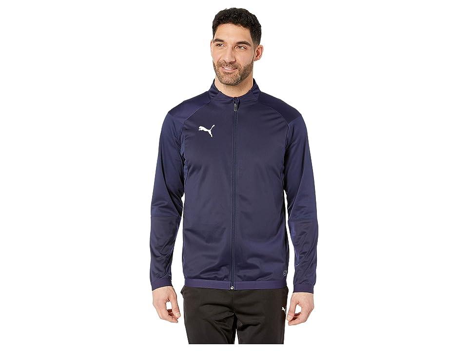 PUMA Liga Training Jacket (Peacoat/Puma White) Men