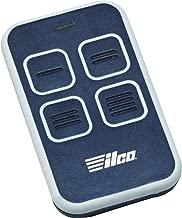 Ilco EZ-4U Universal Residential Garage Door & Gate Remote, Blue