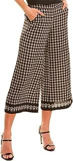 MAXSTUDIO Women's Wide Leg Cropped Pants