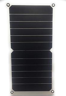 Haihuicer Tableta Que acampa del Puerto USB Durable del Panel del Cargador Solar de 5V 10W del generador Solar