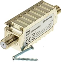 Kenable 4G LTE Shielded in Line Filter F Type Screw Sockets - Improves Signal