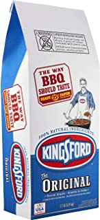 Kingsford Original Charcoal Briquettes, 7.7 Pound Bag (Pack of 2) (Packaging May Vary)