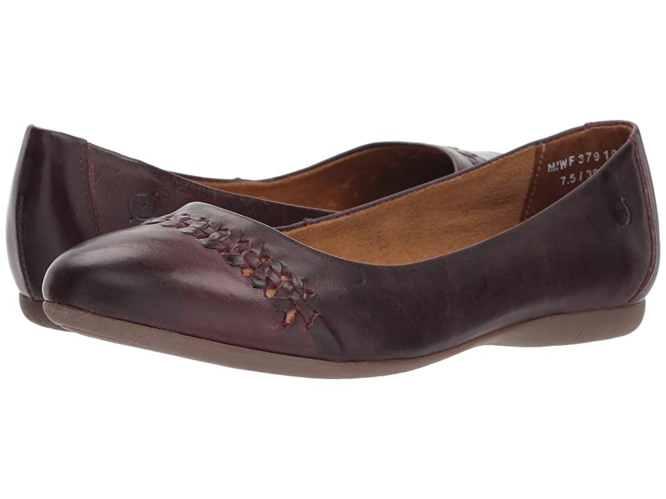 Born Madeleine (Purple Full Grain Leather) Women