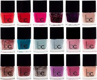 B.C. Beauty Concepts Nail Polish Set, Mini Nail Polish Kit - 18 Trendy and Glossy Colors for Fingernails and Toenails