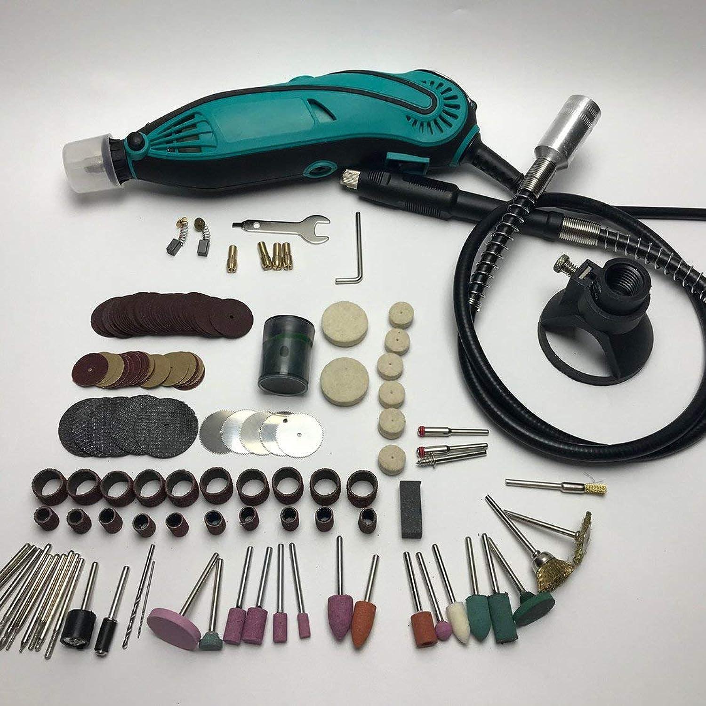 Neue Art Mini Mühle Dremel Bohrer Elektrische Variable Geschwindigkeits-drehwerkzeug Mit 207 Unids Werkzeuge Zubehör - Multi-Farbe B07NVDGWM5 | Moderne und stilvolle Mode