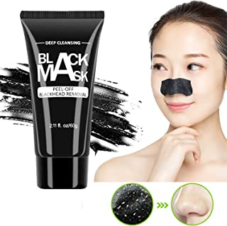 YHCUI Black mask,Blackhead Remover Mask,Deep Cleansing Facial Mask for Nose & Face For All Skin Types