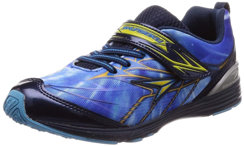 調整可能パラダイススコア[シュンソク] 運動靴 通学履き 瞬足 踵パーツ搭載 軽量 15~23cm 1E キッズ 男の子 SJC 7690