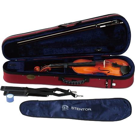 STENTOR バイオリン アウトフィット 適応身長145cm以上 ハードケース、弓、松脂 SV-180 4/4