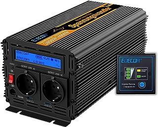 4000w 12V to 220V Dastrues 3000W//4000W Auto Solar Power Inverter Dc 12//24V bis AC 220 V Modifiziert Sinuswelle Wandler