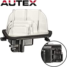 AUTEX ATC HVAC Blower Motor Resistor Compatible with Acura Mdx 2001-2006 Replacement for Honda Pilot 2003-2008 Blower Resistor RU351 20273 79330S3VA01 JA1385 3A1268