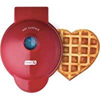 Dash DMW001HR Mini Heart Maker Waffle Iron Shaped Goodness