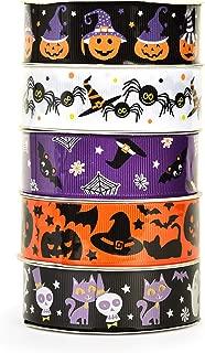 Best halloween printed grosgrain ribbon Reviews