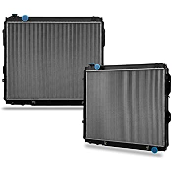 STAYCO CU2321 2-Rows Complete Cooling Radiator Compatible with 2000 2001 2002 2006 Tundra 4.7L V8