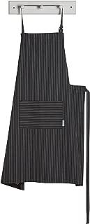 Now Designs Oversized Apron, Pinstripe Black