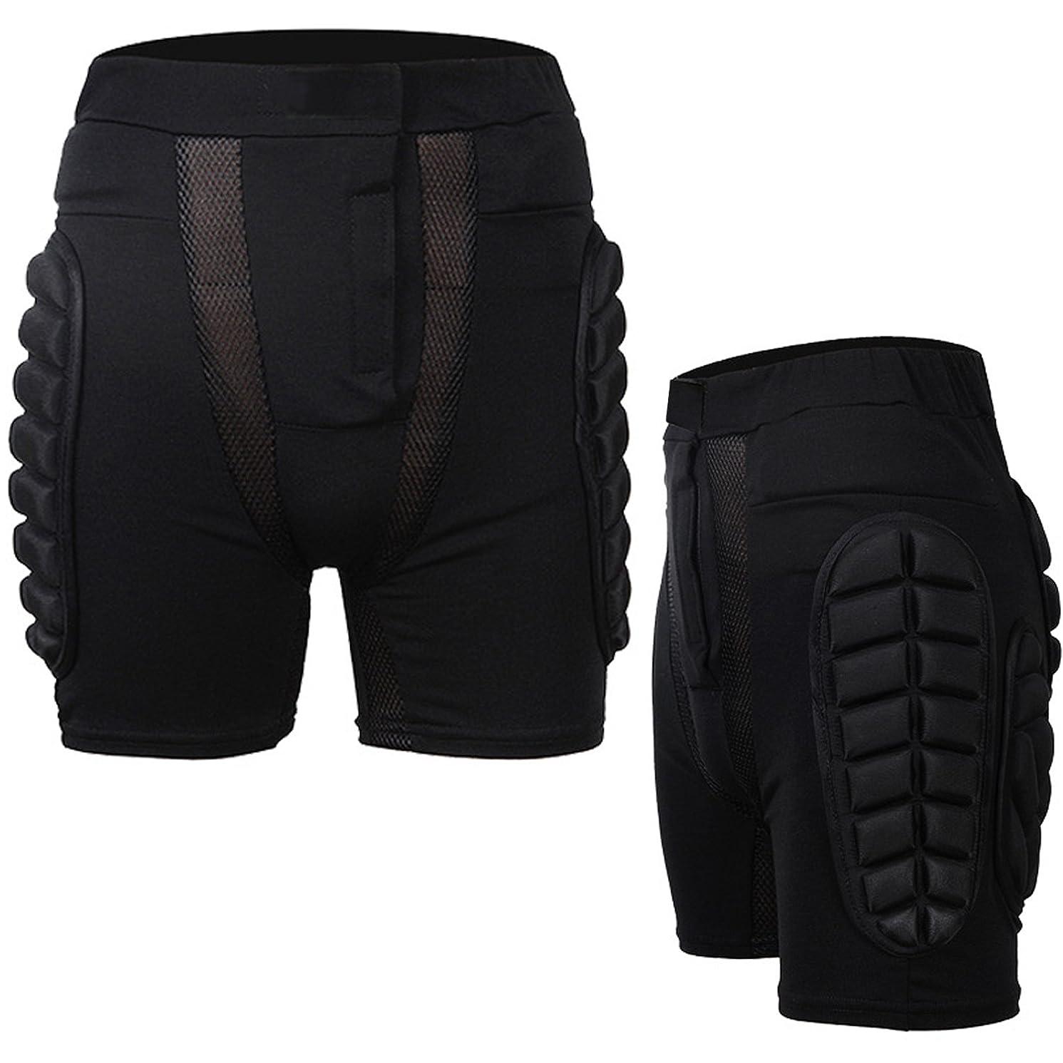Guide 3D Hip Padded Shorts EVA Protective Pants for Outdoor Sports Skiiing Skating Snowboard Skateboarding Cycling Protection