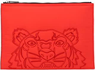 Luxury Fashion | Kenzo Mens F965PM302F3021 Red Clutch | Fall Winter 19