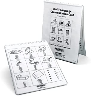 Ableware Multi-Language Communication Cards