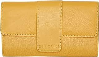 Rip Curl Women's Coastal Rfid Leather Wallet Soft Yellow
