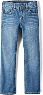 Big Boys' Straight Leg Jeans