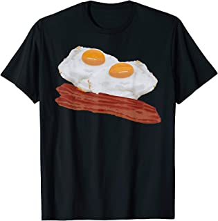 Funny Bacon and Eggs Costume T-Shirt