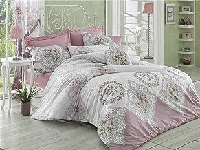 Pearl Home Ranforce Single Quilt Cover Set-160 x 220 cm-Duvet Cover-Flat Sheet Pillow Case