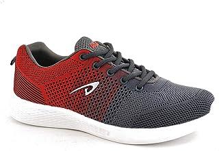 Aqualite Men MESH Grey Red Running Shoes