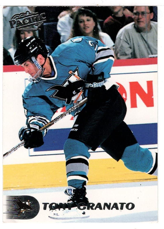 Tony Granato - San Jose Seasonal Wrap Introduction Sharks 3 Pacific # Max 81% OFF Hockey 1998-99 Card