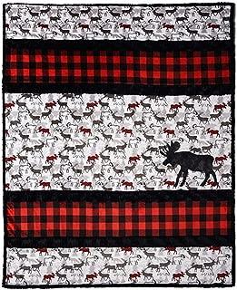 moose quilt fabric