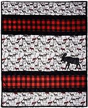Minky Embrace Sensational Strips A'Moose'd Cuddle Kit Quilt Kit Shannon Fabrics