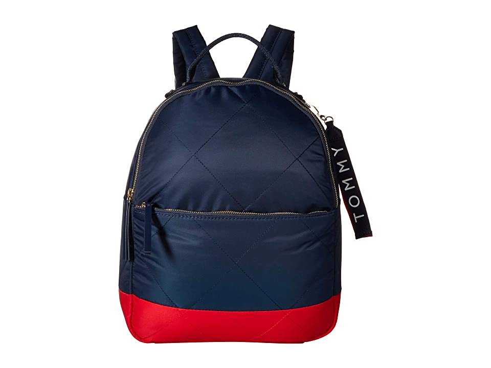 Tommy Hilfiger Kensington Backpack (Navy/Red) Backpack Bags